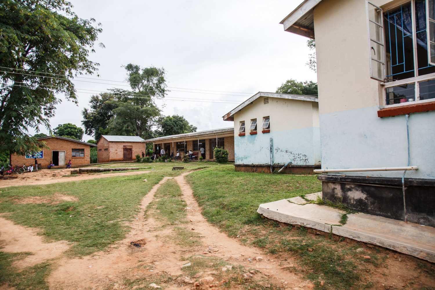 Chintheche Rural Hospital in Nkhata Bay district in north Malawi